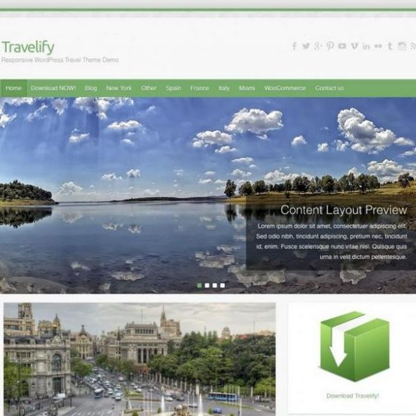 SEO GRATIS WORDPRESS,TEMA TRAVELIFY