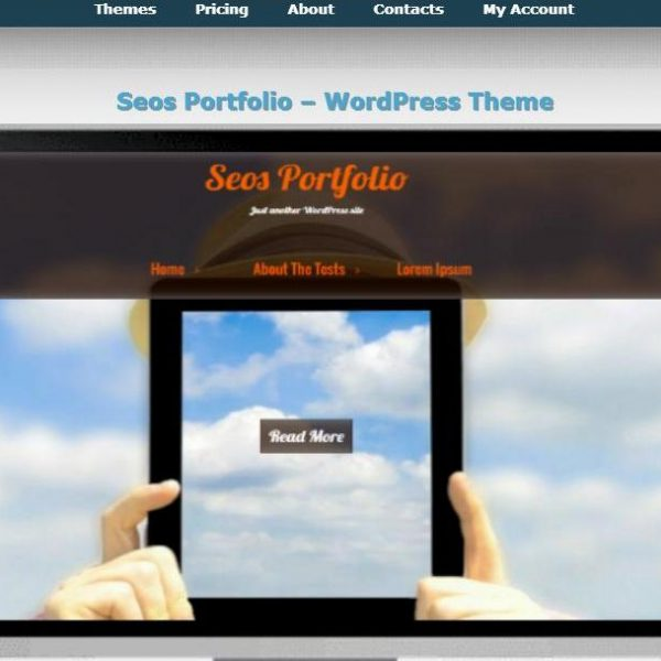 tema web wordpress